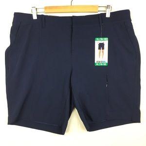New 32 Degrees Navy Cargo Shorts XL